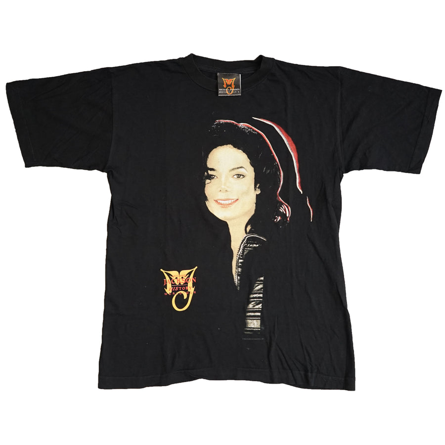 Vintage 1996 Michael Jackson 'History World Tour' T-Shirt