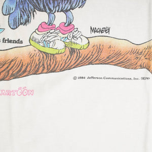 Vintage 1984 Shoe & His Friends 'Note Or Not To Be' T-Shirt