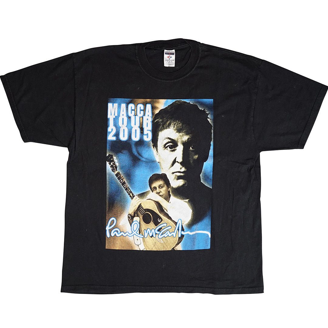Vintage 2005 Paul McCartney 'Macca Tour' T-Shirt