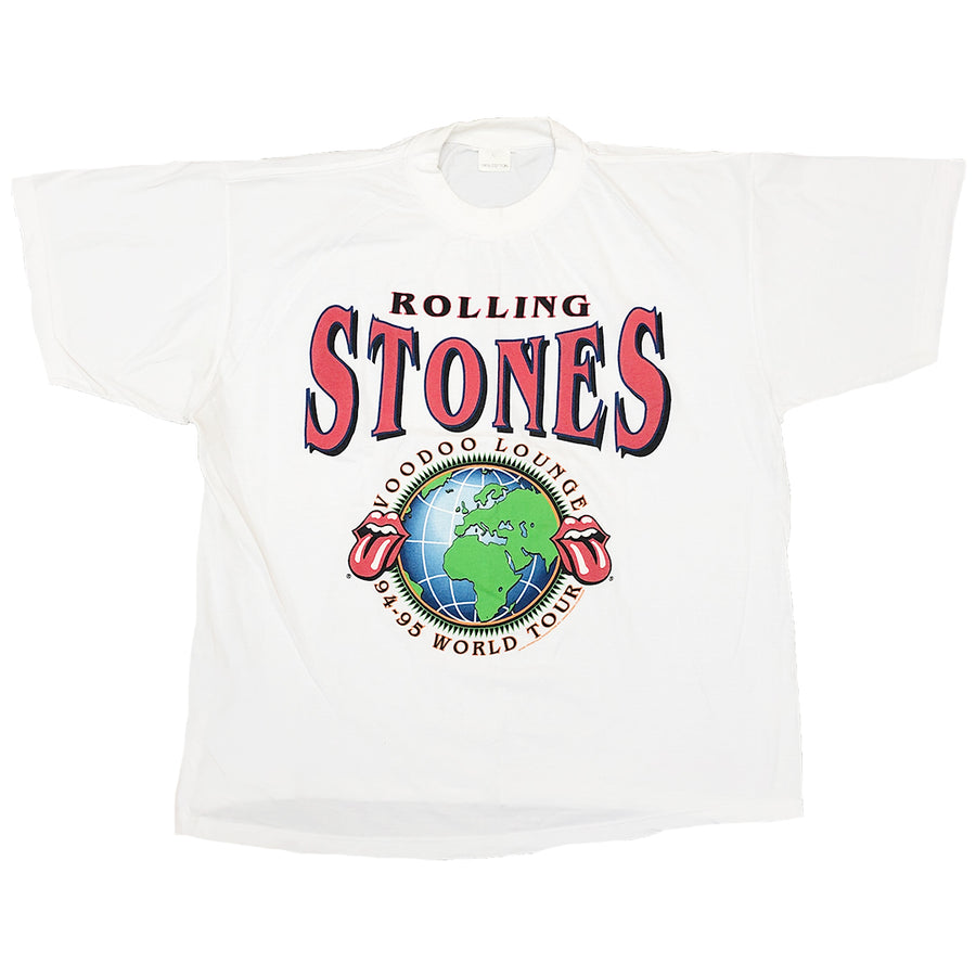 Vintage 1995 The Rolling Stones 'Voodoo Lounge 94/95 World Tour' T-Shirt
