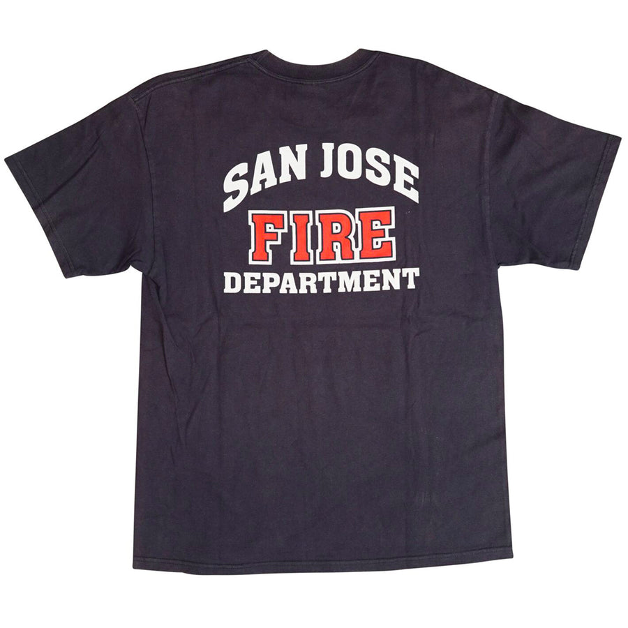 Vintage 90s San Jose Fire Department T-Shirt