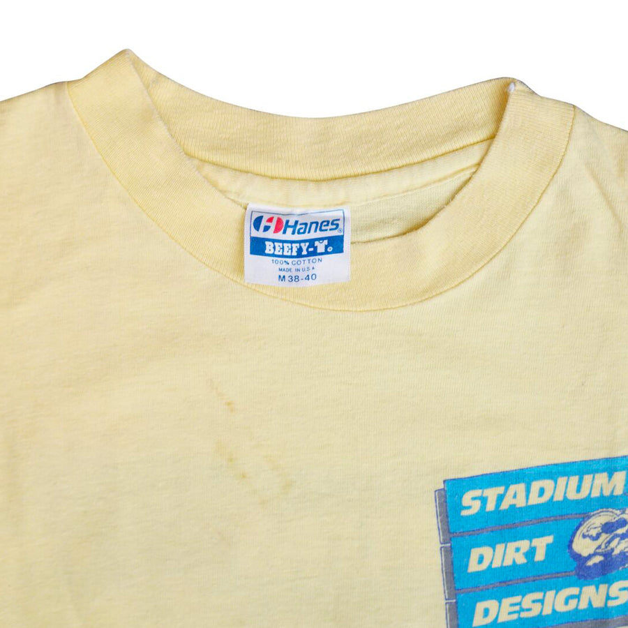 Vintage 80s Stadium Dirt Designs By John Savitski T-Shirt