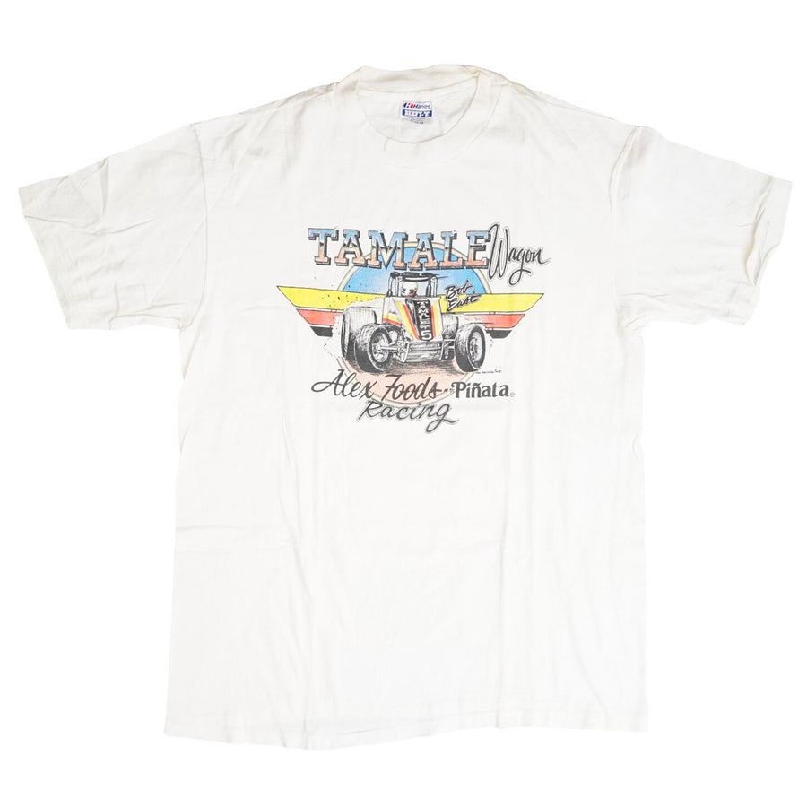 Vintage 80s Tamale Wagon Racing T-Shirt