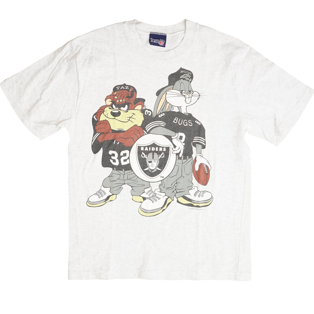 Vintage 1993 Looney Tunes NFL 'LA Raiders' T-Shirt