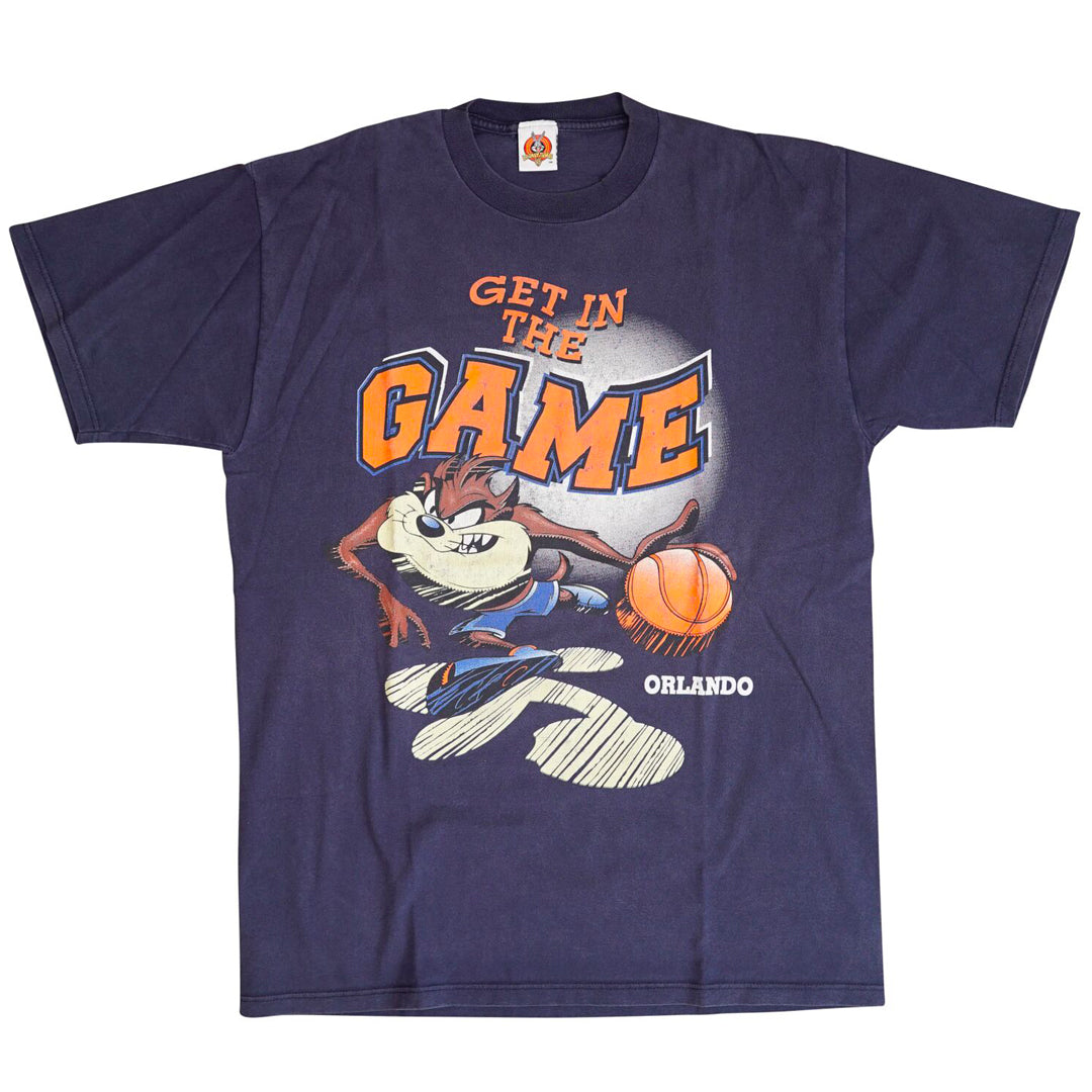Vintage 1998 Looney Tunes 'Get In The Game' T-Shirt