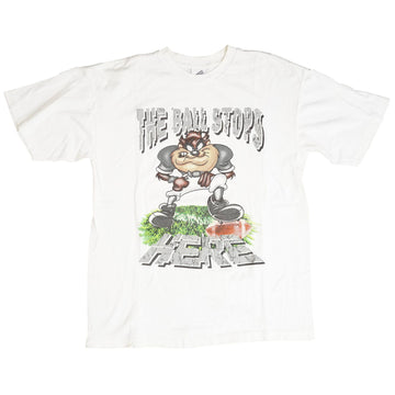 Vintage 90s Looney Tunes 'The Ball Stops Here' T-Shirt