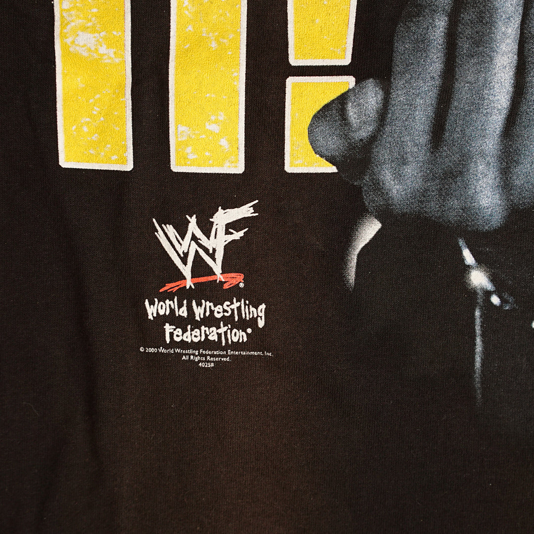 Vintage 2000 The Rock WWF 'Just Bring It' T-Shirt