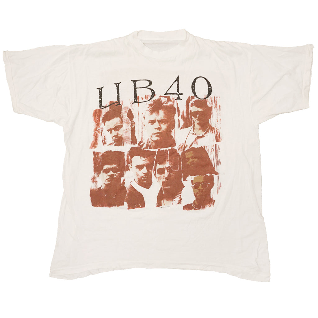 Vintage 1988 UB40 'World Tour 1988/1989' T-Shirt