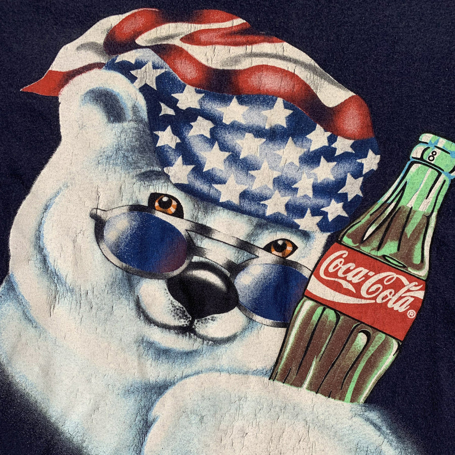 Vintage 1995 Coca-Cola Polar Bear T-Shirt