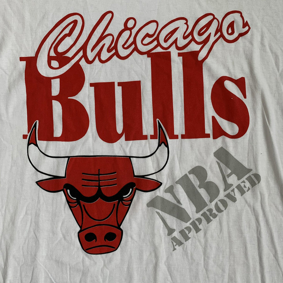 Vintage 90s Chicago Bulls 'NBA Approved' T-Shirt