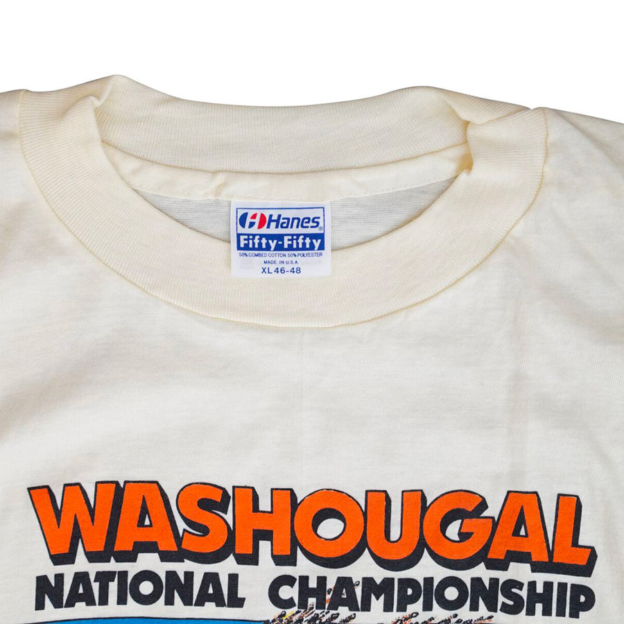 Vintage 1984 Washougal National Championship Motocross T-Shirt