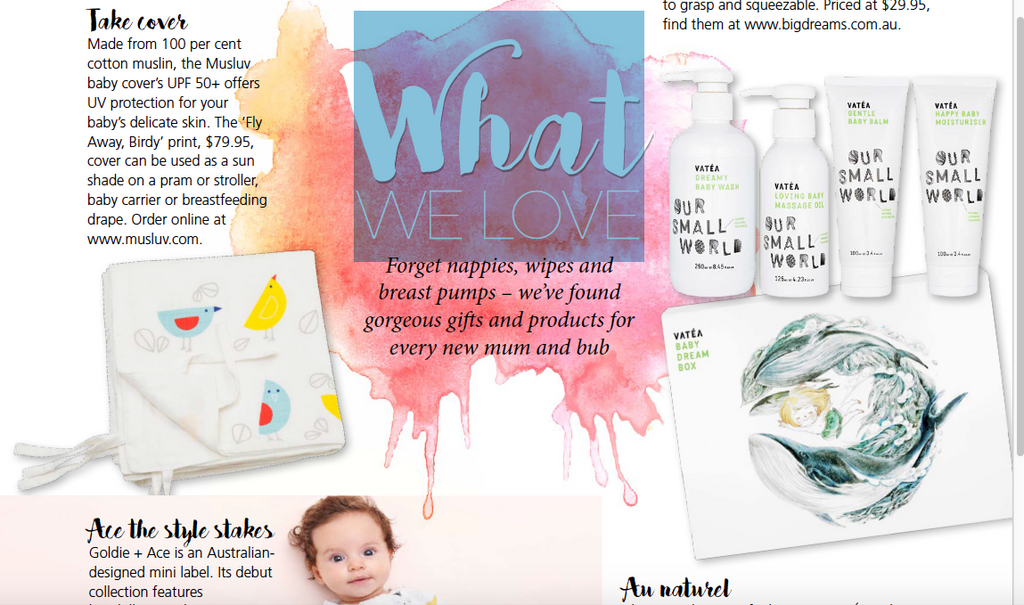 Pregnancy Life and Style loves Vatea Baby Dream Box