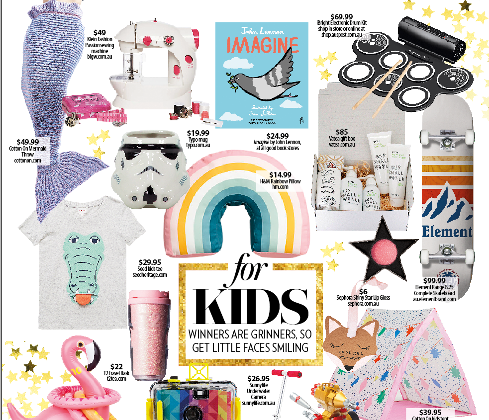 WHO Magazine Australian recommends Vatea Baby Dream Box