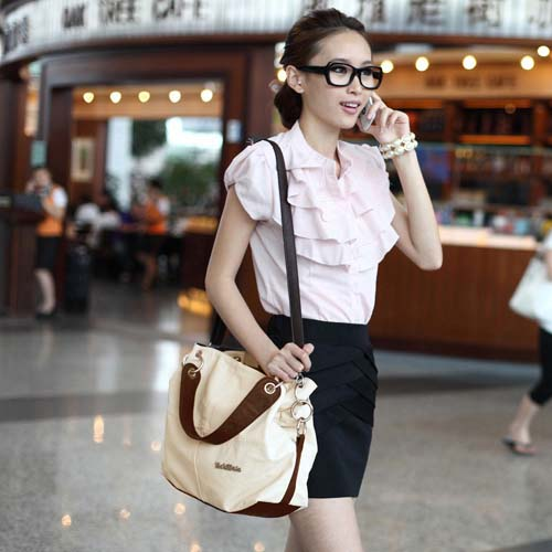 Women Versatile Handbag Soft PU Leather bags