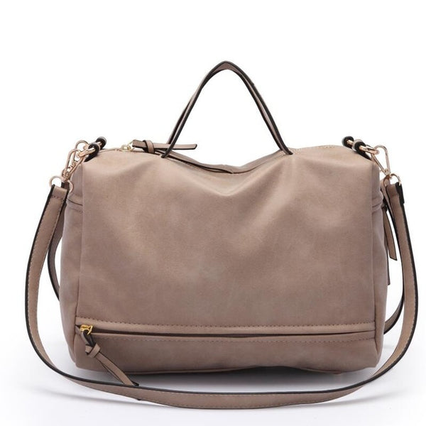 Female Shoulder Bag Nubuck Leather women handbag
