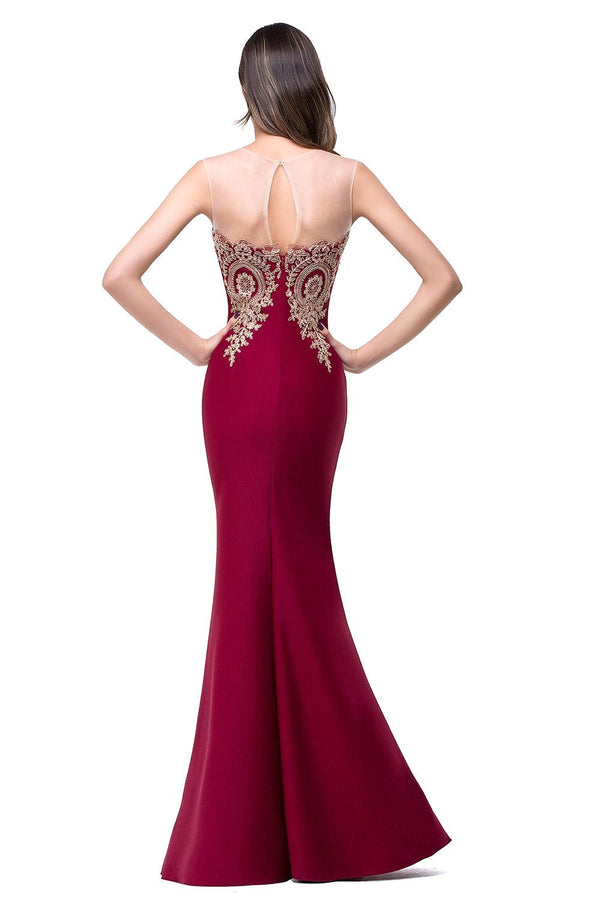 Robe de Soiree Longue Sexy Backless Dress