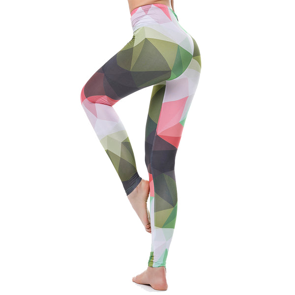 High Waist Colorful Leggings For Women Slim Jeggings