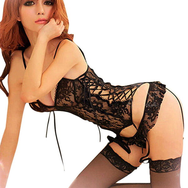 Lingerie Women Ladies Sexy Lace Underwear Nightwear