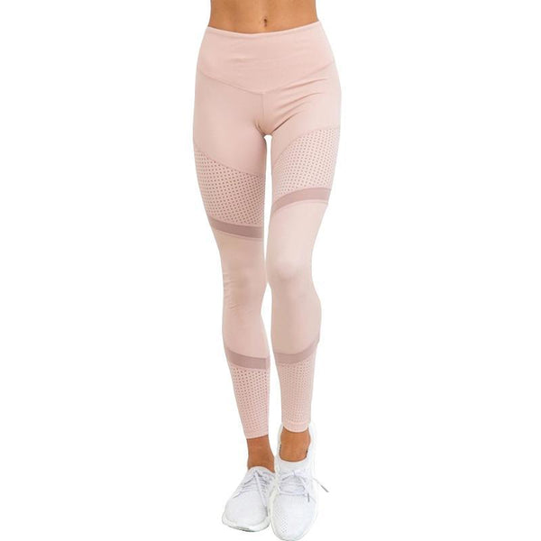 Women Work Out Pink Spring Ankle Length Legging