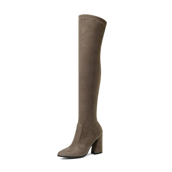 Women Over The Knee High Boots Fashion