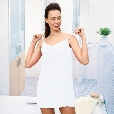 Towel for Adult Microfiber Fabric Wearable Bath Towels