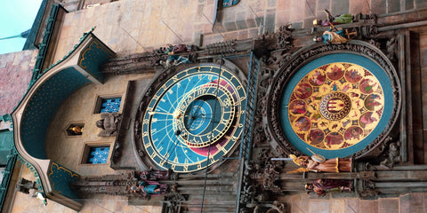 Prague - Astronomical Clock Scarf