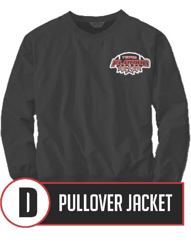 D - Pullover Jacket