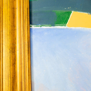 "David B Wade ""Landscape in Yellow and Blue"""