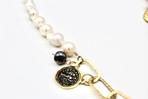 Blessing Necklace with Pearls