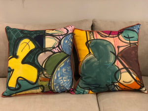 Kelly O'Neal Textile Pillows
