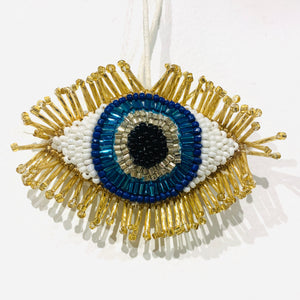 Blue Eye Ornament