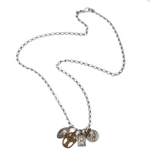 Lourdes Sterling Necklace