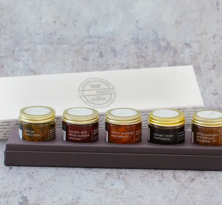 Petite Collection of Jams and Preserves