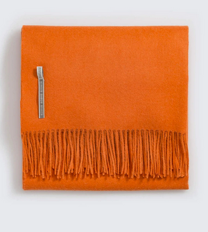 Classic Throw, Orange
