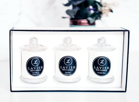 Small Soy Candle Trio Gift Pack