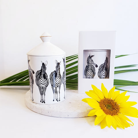 Zebra - Luxe Canister Soy Candle