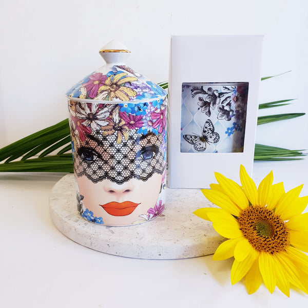 Lady Lace - Luxe Canister Soy Candle