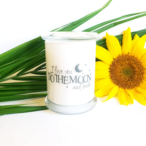 Personalised Medium Soy Candle