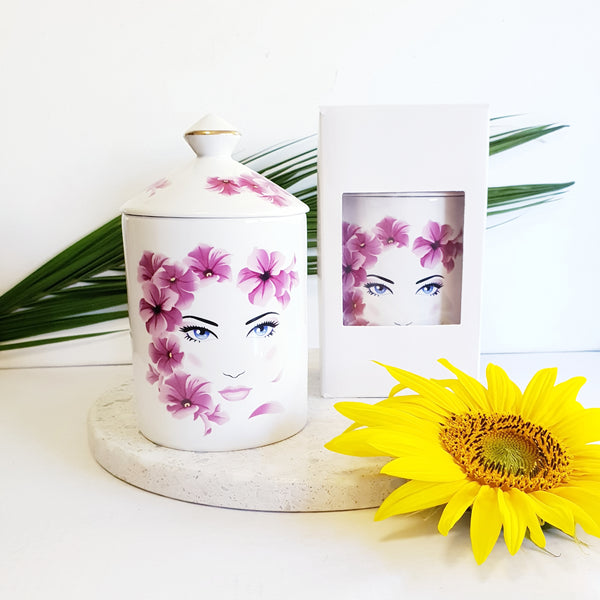 Pink Lady - Luxe Canister Soy Candle