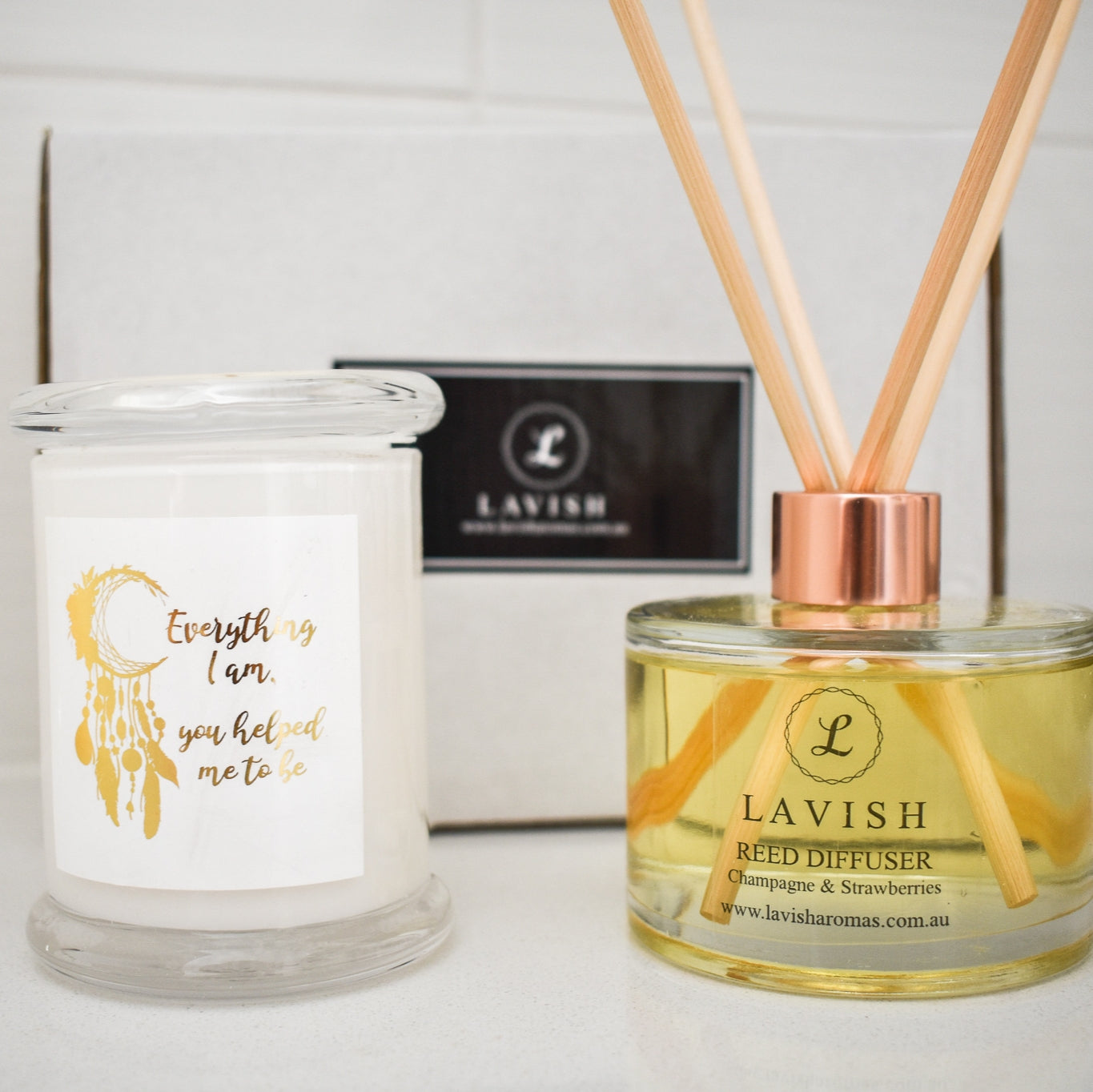 Candle & Diffuser Gift Set