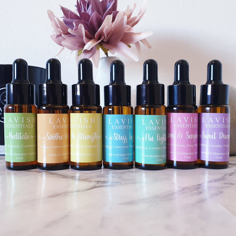 15ml Essential Oil Blends