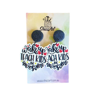 Teach Kids Earrings