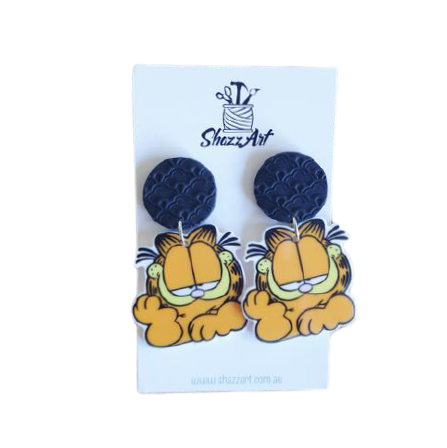 Garfield Earrings