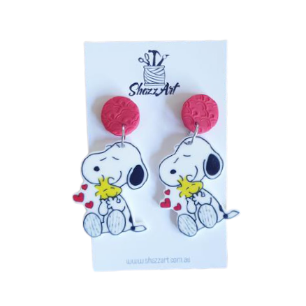 Snoopy Earrings