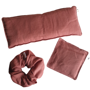 Dusty Pink Linen Gift Set