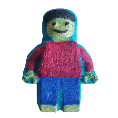 Brick Man Bath Bomb