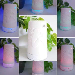 Fairy Ceramic White Ultrasonic Diffuser