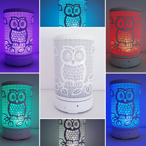 Owl White Ultrasonic Diffuser