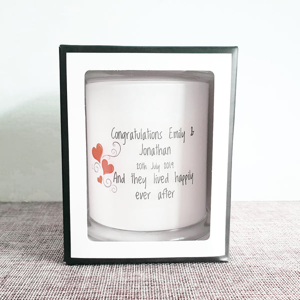 Personalised Large Soy Candle