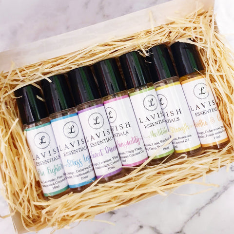 10ml Essential Oil Roller Blends